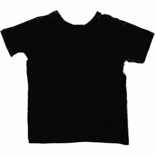 Sensory Friendly Reversible Tee Shirt - Black - Spectra Sensory Clothing from